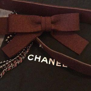 Chanel Runway belt
